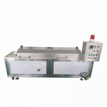 Semi Automatic Peanuts Deep Fryer Groundnut Frying Machine