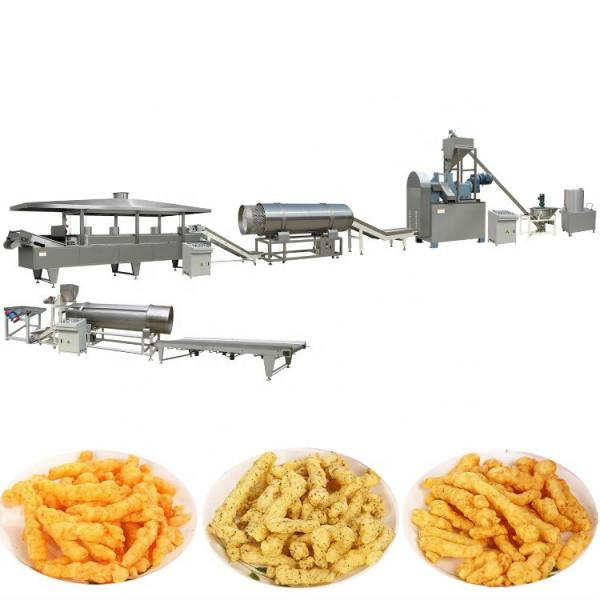 Fully Automatic Kurkure Cheetos Corn Chips Making Machine