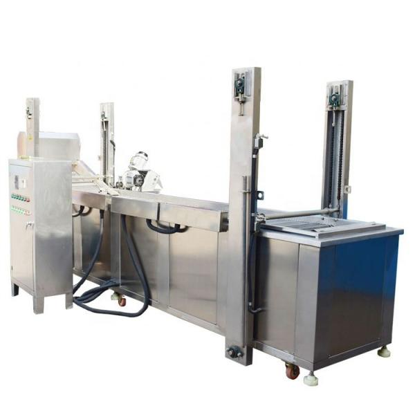 Industrial Commercial Use Deep Frying Machine for Potatoes Seasoning Processing and Snack Food Processing