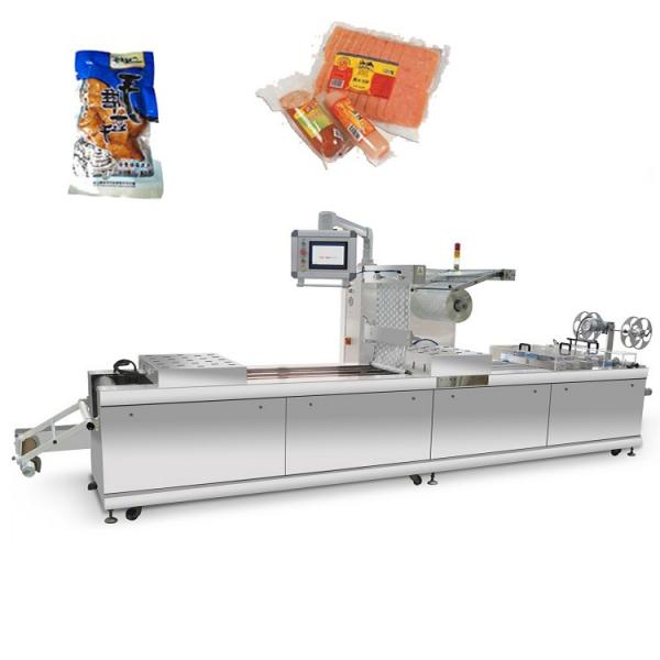 Automatic Thermoform Fresh Fish Vacuum Skin Pack/Packing/Packaging Machine